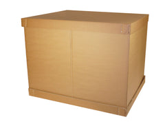 Euro pallet boxes without pallet - 1160mm x 760mm x 840mm xxl box