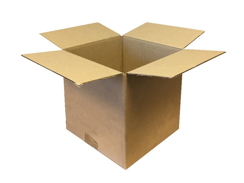 cube or square cardboard boxes