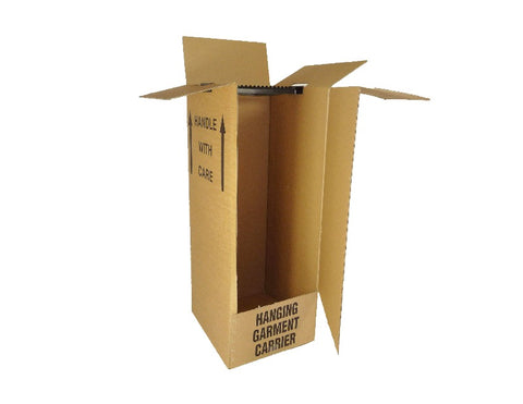 wardrobe boxes for removals - 508mm x 457mm x 1220mm