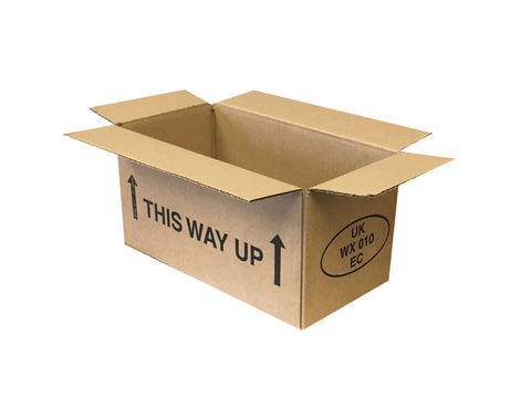 cheap new cardboard boxes with this way up