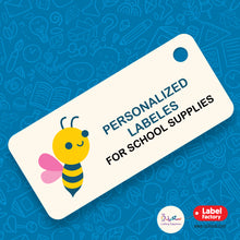 School labels package [Bee Design]