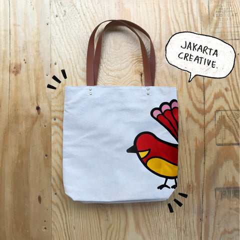 Tote Bag Icon Kipasan Belang