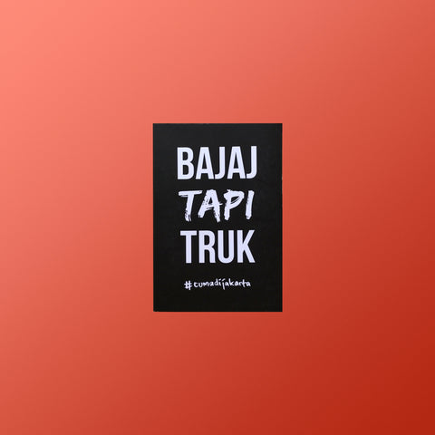 """Bajaj Tapi Truck"" Notebook"
