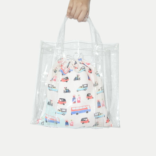 Bajaj Transparent Bag