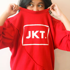 Sweatshirt JKT (red)