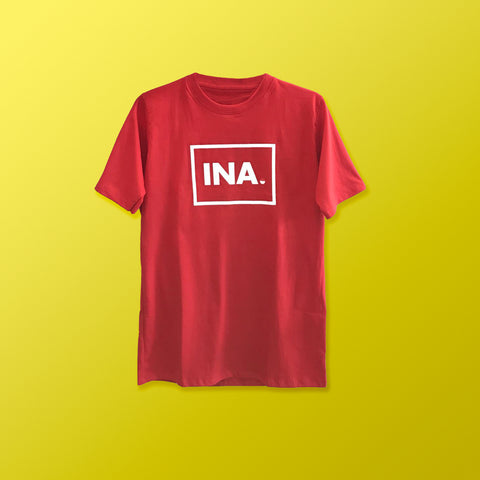 INA T-shirt (Red)