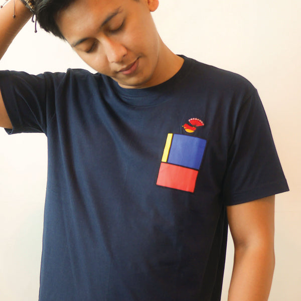 Icon Patch T-shirt (Kipasan Belang)