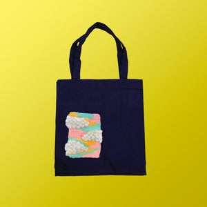 Pastel Weaving Totebag