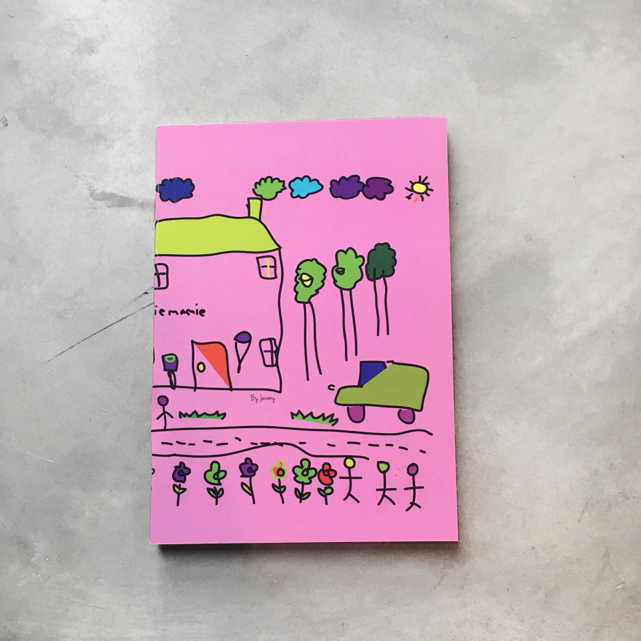 Notebook Abyakta Pink Home
