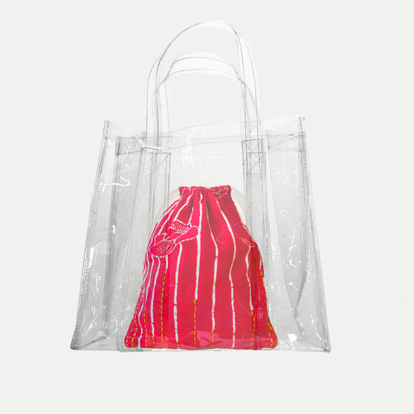Kembang Telang Transparent Bag
