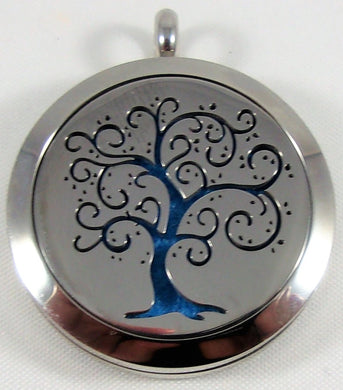Swirl Tree Necklace
