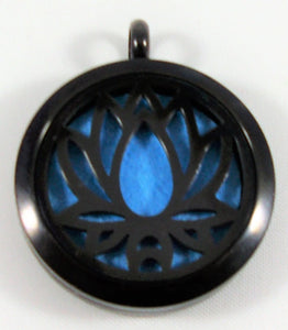 Black Lotus Necklace