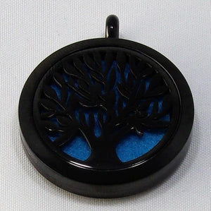 Black Tree Of Life Necklace