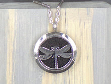 Dragonfly Stainless Diffuser Necklace