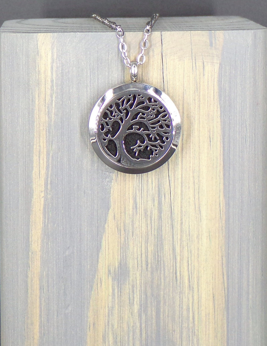 Tree Of Tranquility Stainless Necklace