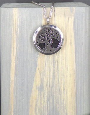 Twisted Tree Stainless Necklace