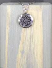 Peace Flower Stainless Necklace
