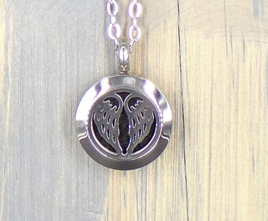 Angle Wings Stainless Necklace