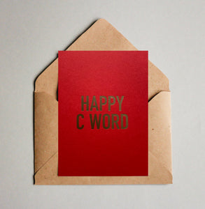 HAPPY C WORD