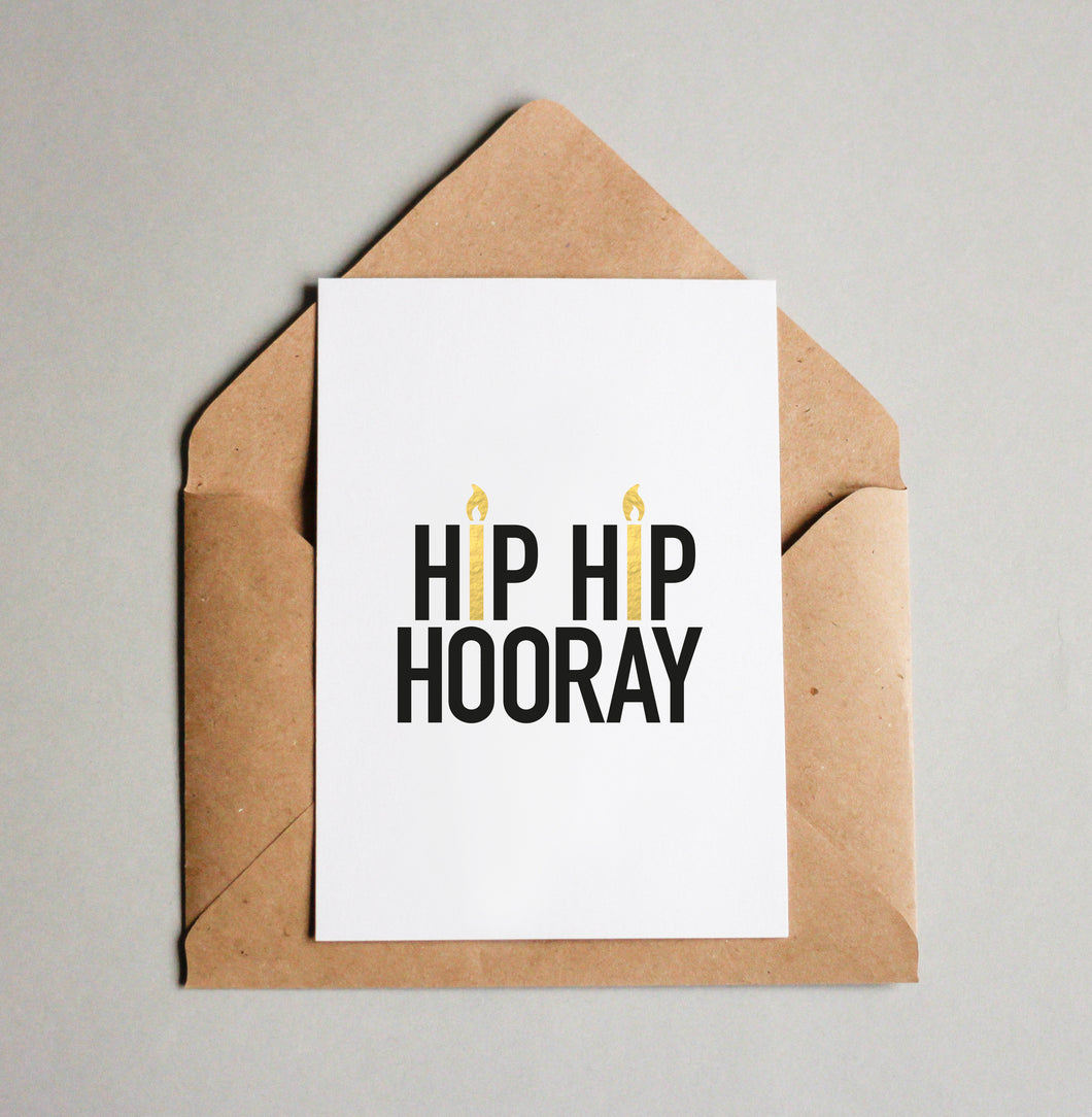 HIP HIP HOORAY