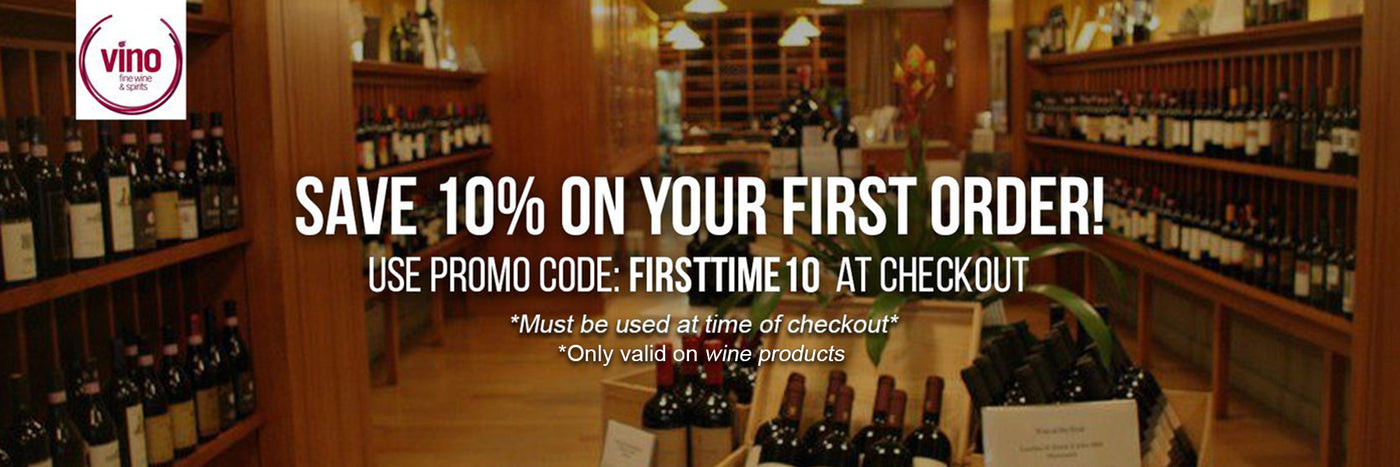 10 % off your first order