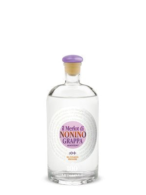 Nonino Grappa Merlot 750ml