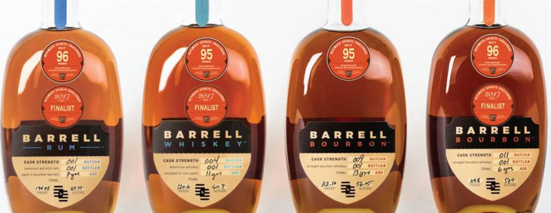 Barrell Cask Strength Bourbon Whiskey