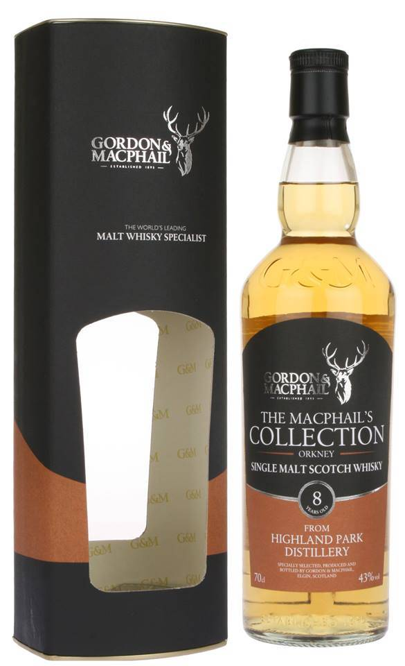 Gordon & Macphail 8yr Highland Park Single Malt Scotch Whisky 750ml