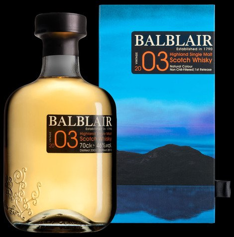 Balblair Highland Scotch 2003