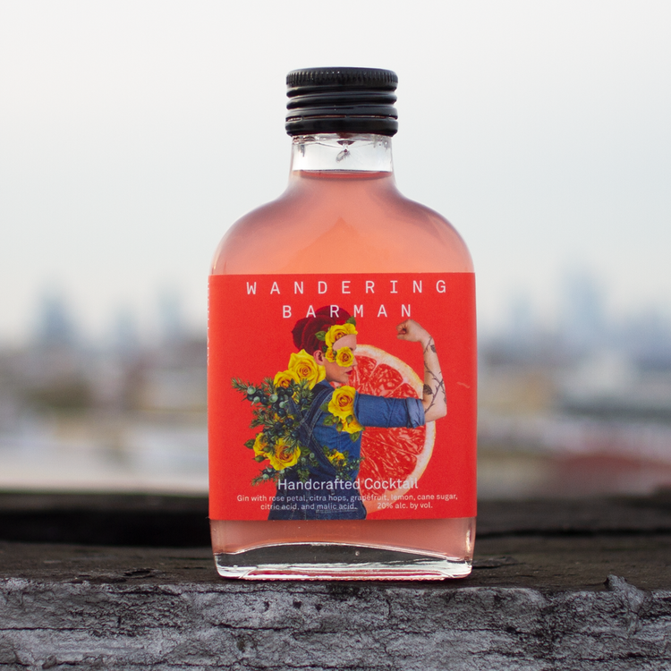 Wandering Barman Iron Lady Handcrafted Cocktail 100mL