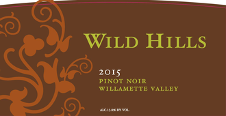 Wild Hills Pinot Noir Willamette Valley 2017