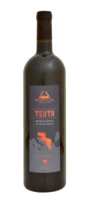 Wines of Illyria Teuta Warrior Queen of the Illyrians Blatina Reserve 2016