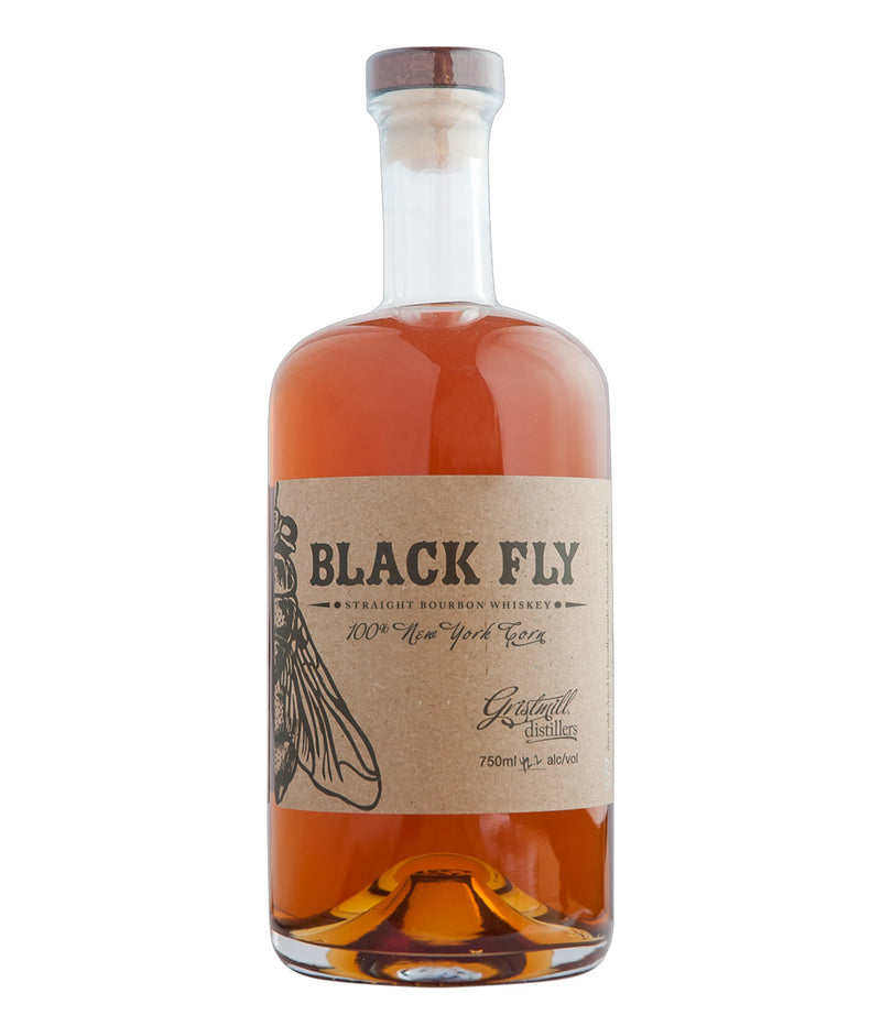 Gristmill Distillers Black Fly Bourbon Whiskey 750mL