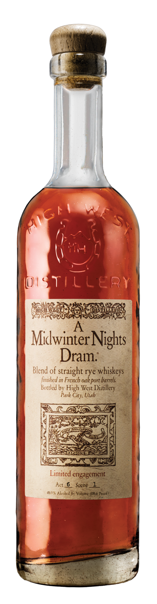 High West A Midwinter Nights Dram Blend of Straight Rye Whiskeys