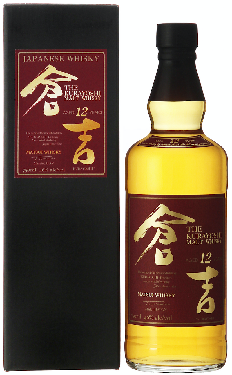Kurayoshi 12 Year Old Pure Malt Japanese Whisky