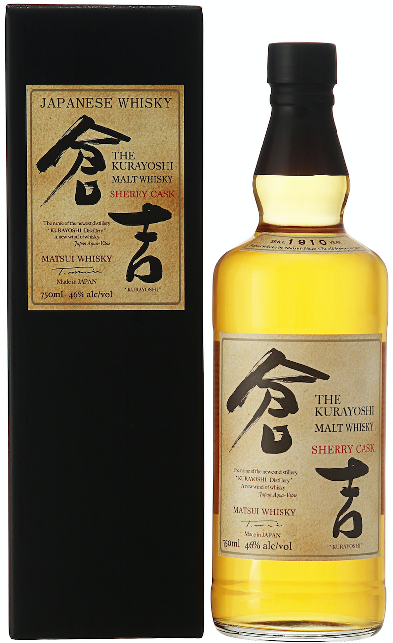 Kurayoshi 8 Year Old Sherry Cask Pure Malt Japanese Whisky