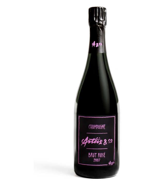 Arteis & Co Brut Rose Champagne 2007