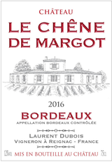 Chateau Le Chene de Margot Bordeaux 2016
