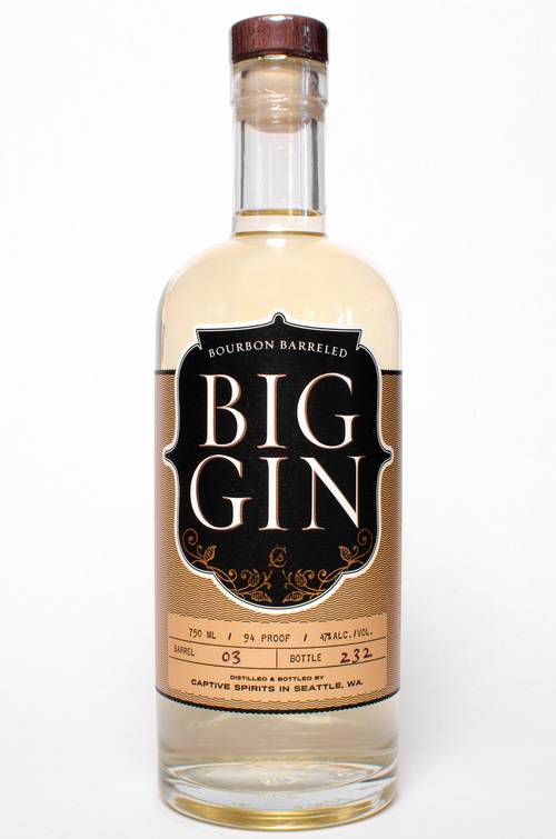 Big Gin - Bourbon Barreled - 750mL