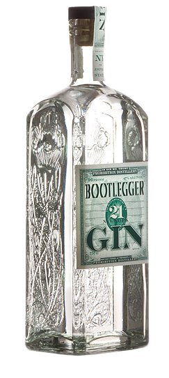 Bootlegger 21 New York Gin 750mL