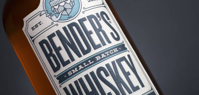Bender's Small Batch Rye Whiskey 750mL