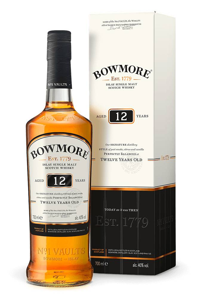 Bowmore 12 Year Islay Scotch Whisky