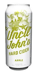 Uncle Johns Hard Cider - 1 Can 16oz