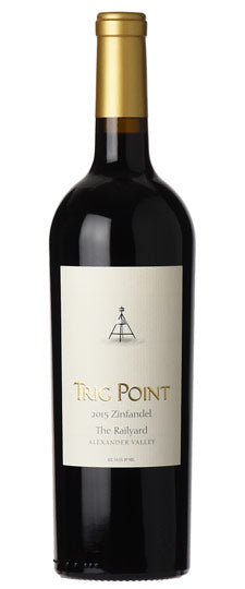 Trig Point Alexander Valley Zinfandel The Railyard Vineyard 2017