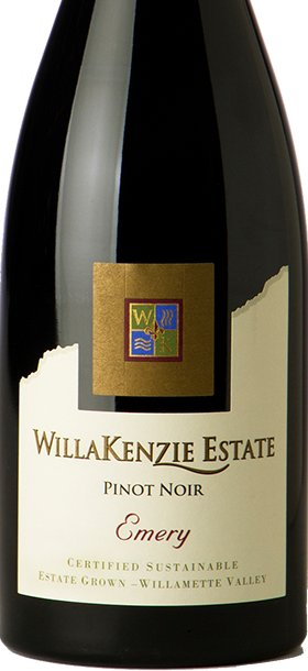 WillaKenzie Estate Pinot Noir Emery 2013