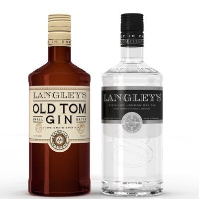 Langleys No. 8 83.4 Proof London Dry Gin 750ml