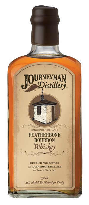 Journeyman Distillery Featherbone Organic Bourbon 750ml