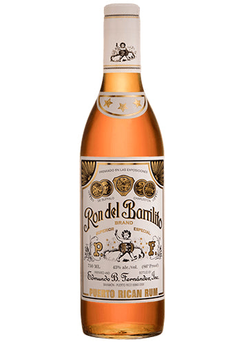 Ron Del Barrilito 3 Star Rum 750mL