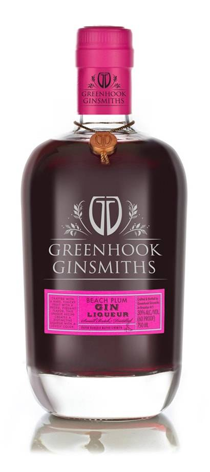 Beach Plum Greenhook Gin 750ml