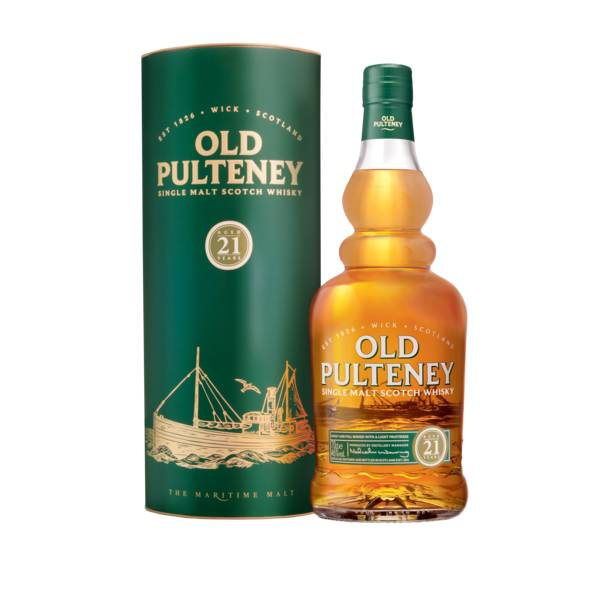 Old Pulteney 21 Year Scotch